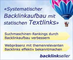 Textlink Marktplatz Backlinkseller