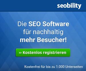 Seobility SEO Software