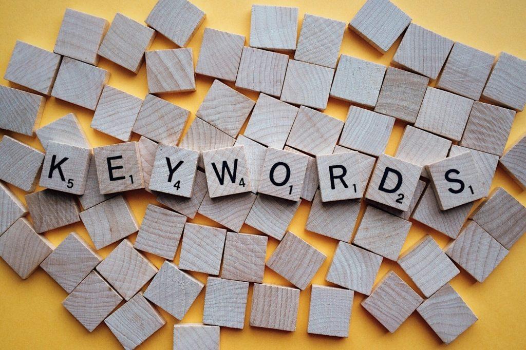Die richtigen Keywords