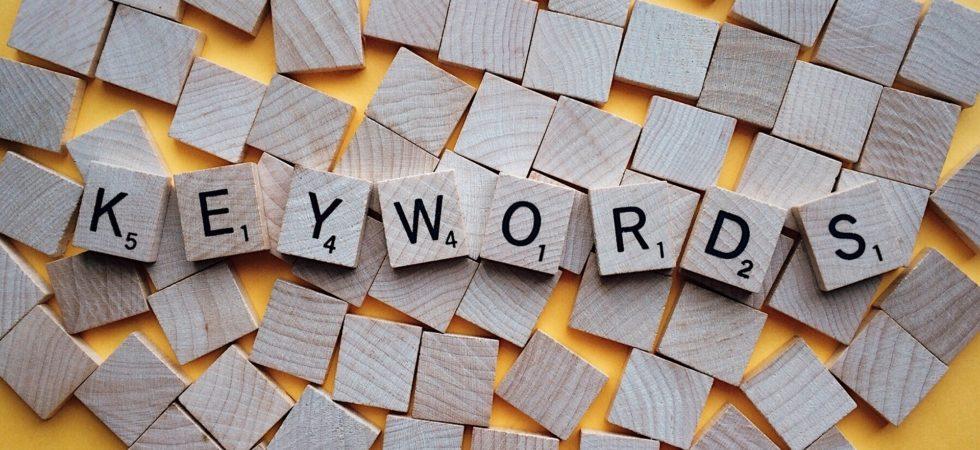 Erfolgreicher Bloggen: Die richtigen Keywords