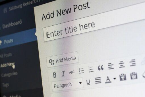 Wordpress neuer Artikel