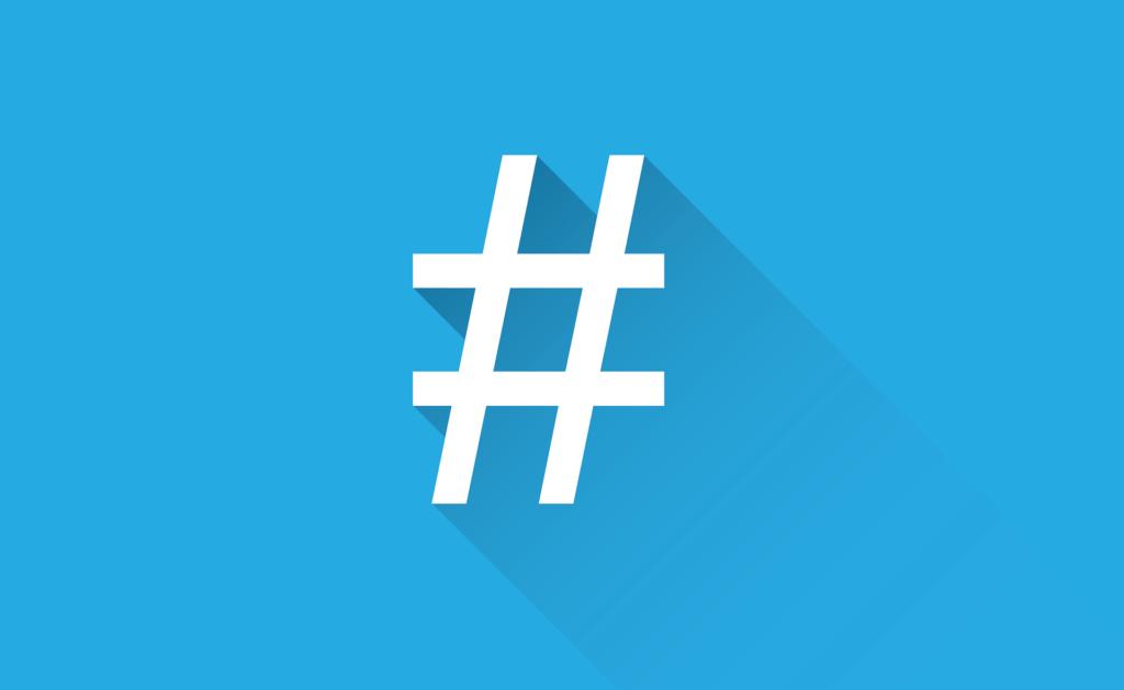Hashtags richtig in den Social Media nutzen