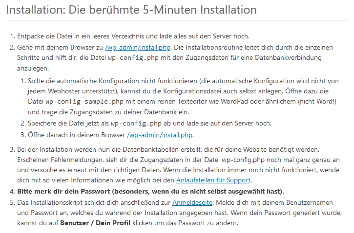 WordPress Tutorial deutsch - 5 Minuten Anleitung