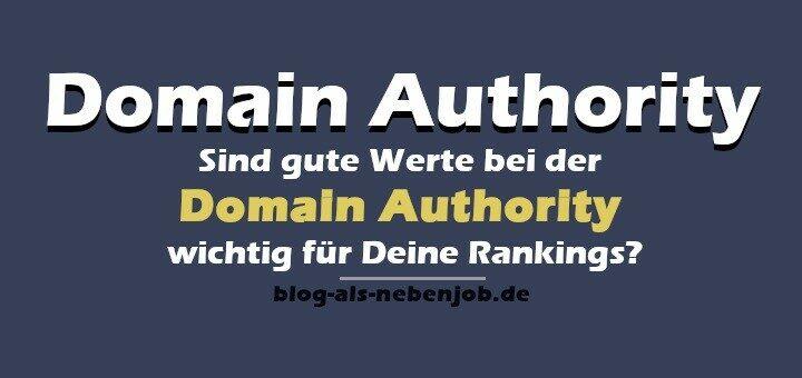 Sind gute Werte für Domain Authority wichtig für Dein Ranking