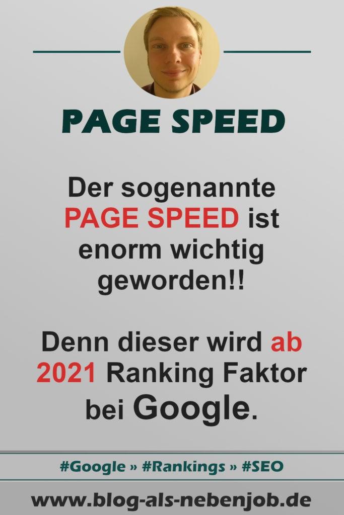 Page Speed Pinterest