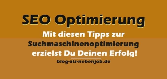 SEO Optimierung - Tipps zur Suchmaschinenoptimierung