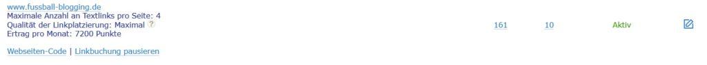 Backlinkseller - Meine Textlinks Beispiele