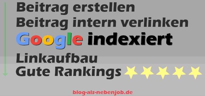 Blogs im Google Ranking verbessern