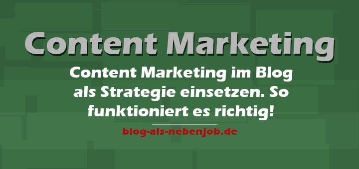 Content Marketing im Blog umsetzen