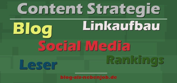 Content Strategie im Content Marketing
