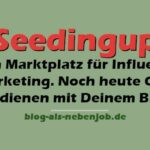 Seedingup - Marktplatz für Influencer Marketing