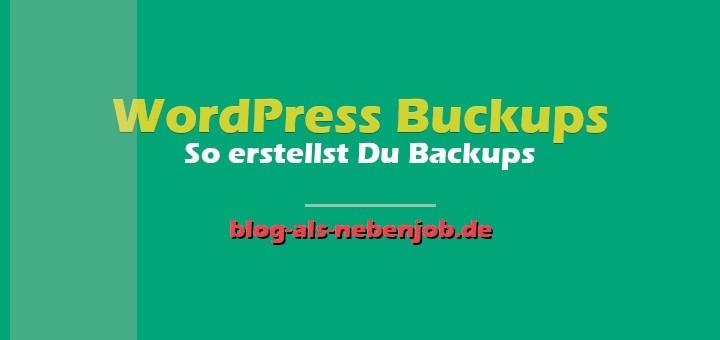 WordPress Tutorials - WordPress Backups erstellen