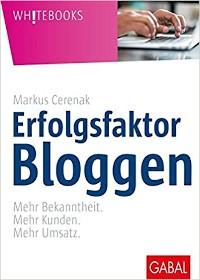 Erfolgsfaktor Bloggen Buch