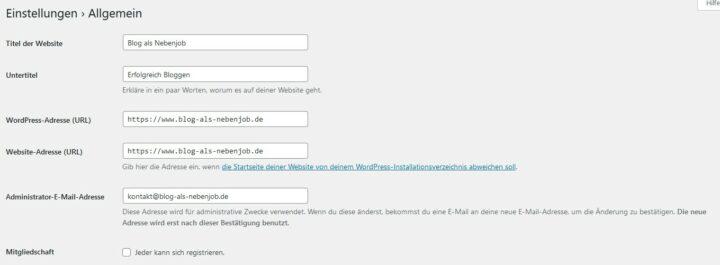 WordPress auf SSL Verschlüsselung umstellen