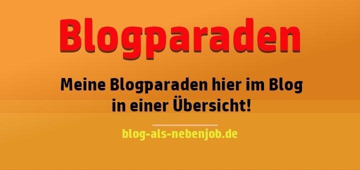 Blogparaden hier im Blog in einer Übersicht