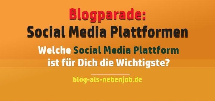 Die Wichtigsten Social Media Plattformen beim Bloggen
